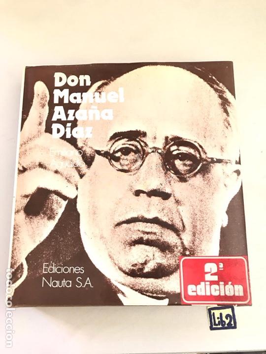 AGUADO, EMILIANO: DON MANUEL AZAÑA (Libros Nuevos - Historia - Otros)