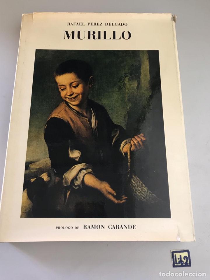 MURILLO. RAFAEL PEREZ DELGADO. EDICIONES GINER 1972. (Libros Nuevos - Historia - Otros)
