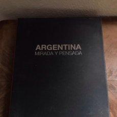 Libros: ARGENTINA MIRADA Y PENSADA. Lote 180331625