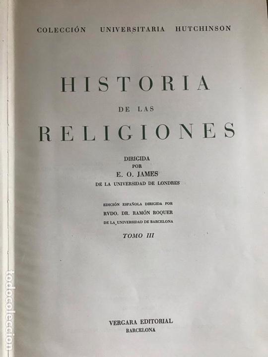 Libros: Historia de la religiones - Foto 2 - 180412137