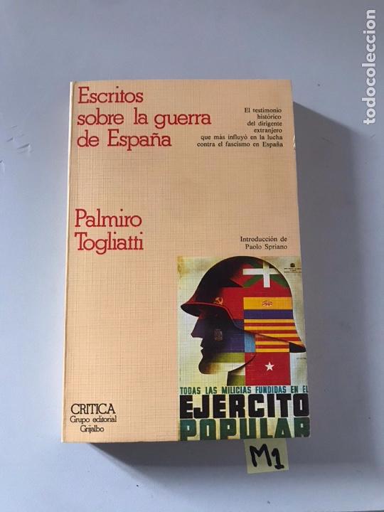 ESCRITO SOBRE LA GUERRA DE ESPAÑA (Libros Nuevos - Historia - Otros)