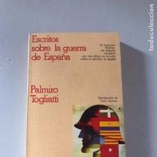 Libros: ESCRITO SOBRE LA GUERRA DE ESPAÑA. Lote 180902025