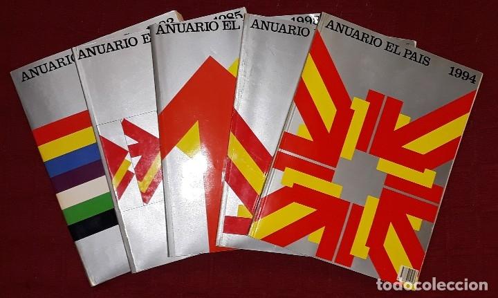 ANUARIO EL PAÍS AÑOS 1983, 1985, 1994, 1995 Y 1998. (Libros Nuevos - Historia - Otros)
