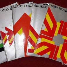 Libros: ANUARIO EL PAÍS AÑOS 1983, 1985, 1994, 1995 Y 1998.. Lote 180947638