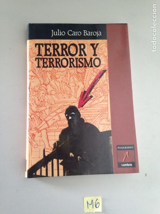 TERROR Y TERRORISMO (Libros Nuevos - Historia - Otros)