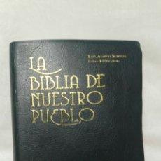 Libros: LA BIBLIA DE NUESTRO PUEBLO. Lote 181214337