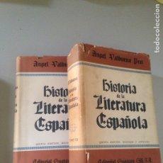Libros: HISTORIA DE LA LITERATURA ESPAÑOLA: EDITORIAL GUSTAVO GIL. Lote 181435300