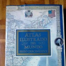 Libros: ATLAS ILUSTRADO DEL MUNDO SIGLO XIX ED. LIBSA. Lote 181458758