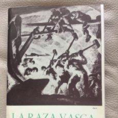 Libros: LA RAZA VASCA - TOMO I - NUEVO - ARANZADI BARANDIARAN ETCHEVERRYB- COLECCION AUÑAMENDI #5-183PAGINAS. Lote 182085580