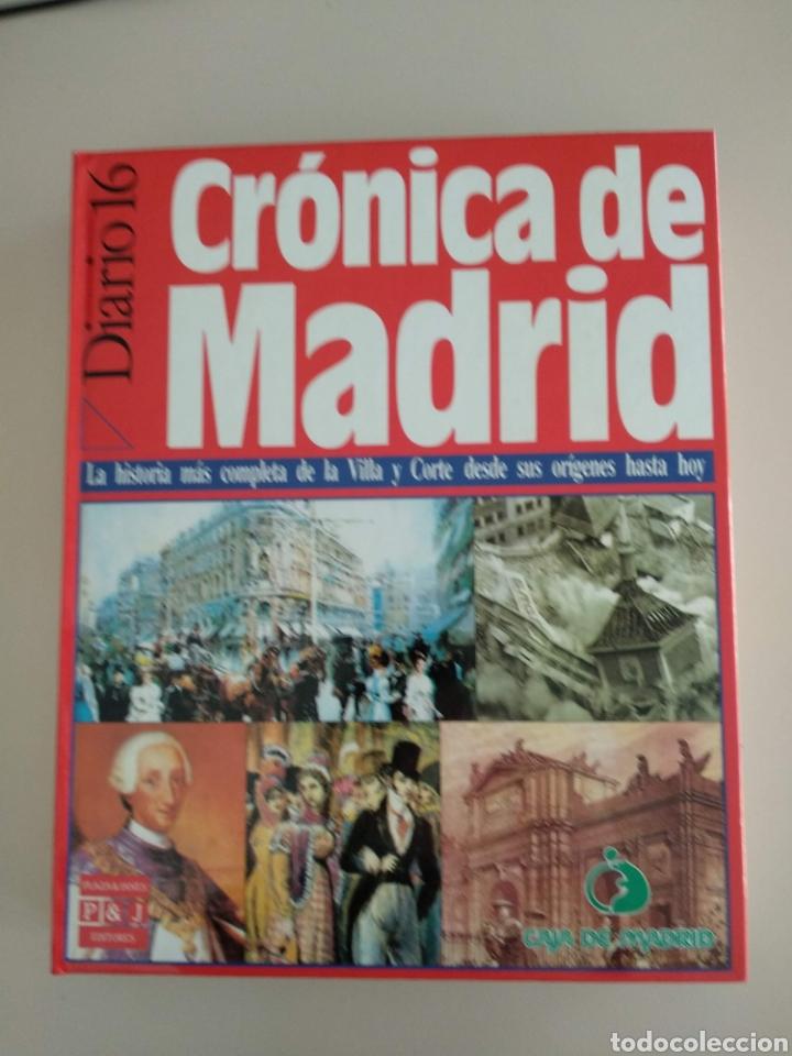 CRÓNICA DE MADRID (Libros Nuevos - Historia - Otros)