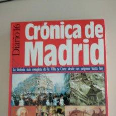 Libros: CRÓNICA DE MADRID. Lote 183258615