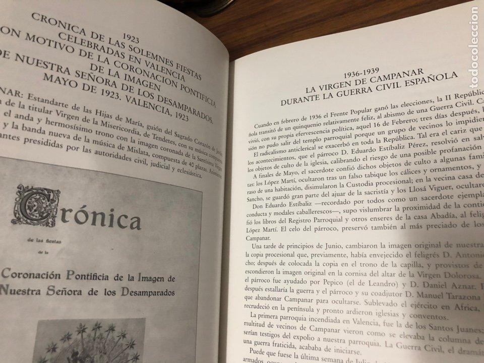 Libros: QUART CENTENARI DE LA SANTA TROBALLA DE LA NARE DE DEU DE CAMPANAR 1596-1996. - Foto 6 - 183706062