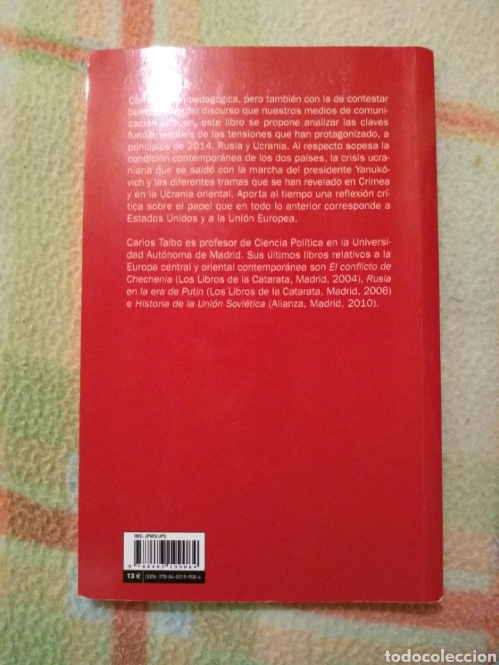 Libros: Rusia Frente a Ucrania, Carlos Taibo. - Foto 2 - 183746918