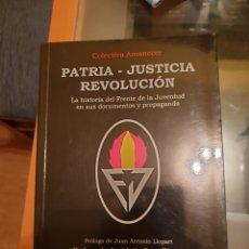 Libros: FRENTE DE LA JUVENTUD. Lote 190381483