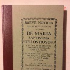 Libros: HISTORIA CUENCA MILAGROS Y SITUACIÓN DE ERCAVICA. Lote 190794081