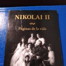Libros: NIKOLAI PÁGINAS DE LA VIDA. Lote 190937092