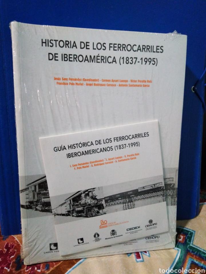 HISTORIA DE LOS FERROCARRILES DE IBEROAMERICA ( 1837-1995 ) (Libros Nuevos - Historia - Otros)