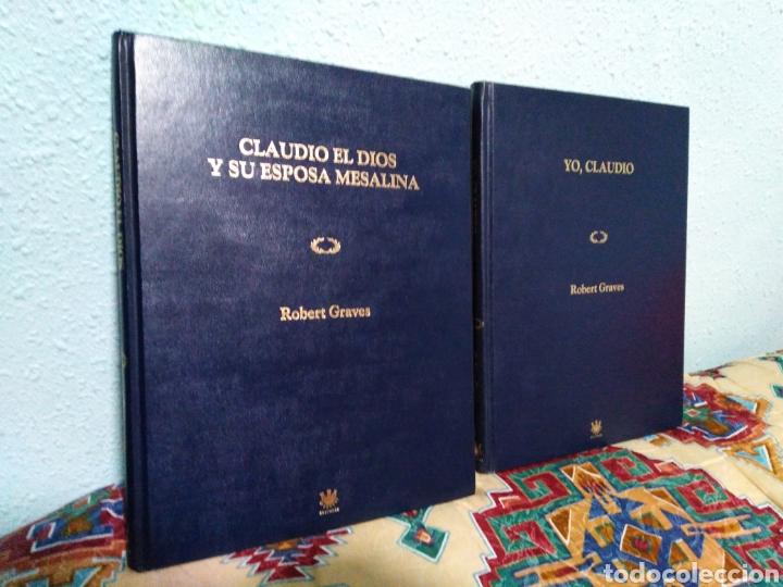 LOTE DE 2 LIBROS ( CLAUDIO EL DIOS Y SU ESPOSA MESALINA Y YO, CLAUDIO ) (Libros Nuevos - Historia - Otros)