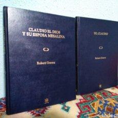 Libros: LOTE DE 2 LIBROS ( CLAUDIO EL DIOS Y SU ESPOSA MESALINA Y YO, CLAUDIO ). Lote 192350805