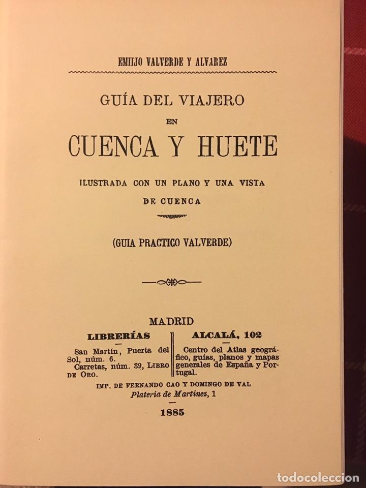 VIAJE DE CUENCA A HUETE (Libros Nuevos - Historia - Otros)