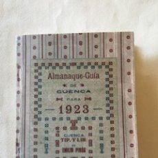 Libros: GUÍA DE CUENCA. Lote 193047972