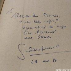 Libros: BARCELONA PEL FORAT DEL PANY - SEMPRONIO. FIRMADO Y DEDICADO POR AUTOR. Lote 193970022