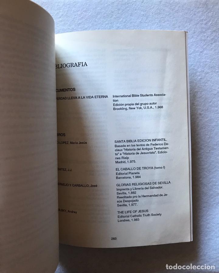 """Libros: SEMANA SANTA SEVILLA. DOS HERMANAS. """"LA ORACIÓN EN EL HUERTO"""" José Juan Domínguez González. 1990. - Foto 5 - 193990980"""