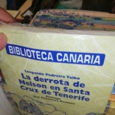Libros: COLECCIÓN LIBROS DE BIBLIOTECA CANARIA COMPLETA Y EN SUS ENVOLTORIOS.. SON 30.. COMPLETOS.. PERFECTO. Lote 194107702