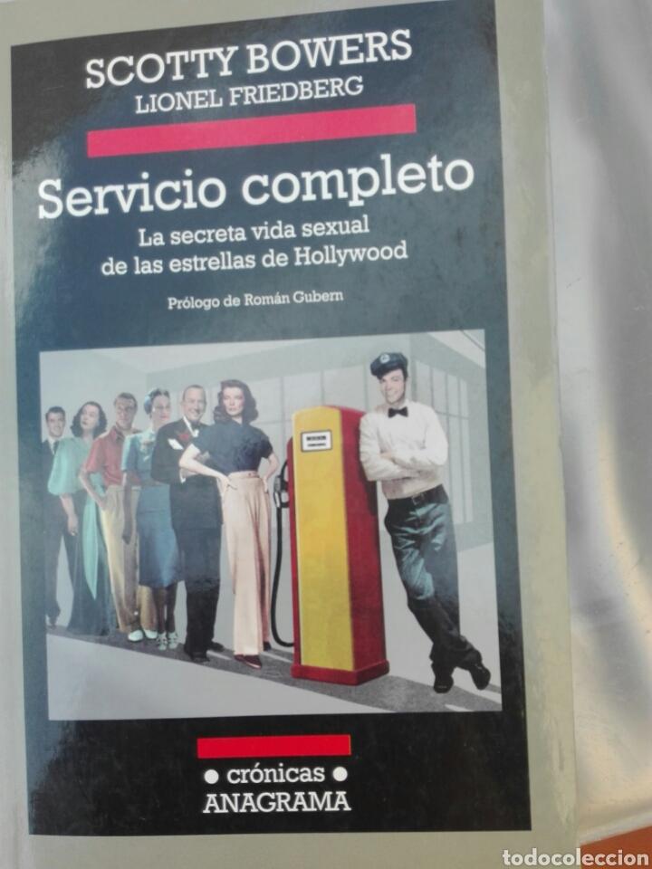 LIBRO SERVICIO COMPLETO ANAGRAMA SCOTTY BOWERS SIN USO (Libros Nuevos - Historia - Otros)