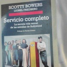 Libros: LIBRO SERVICIO COMPLETO ANAGRAMA SCOTTY BOWERS SIN USO. Lote 194172741