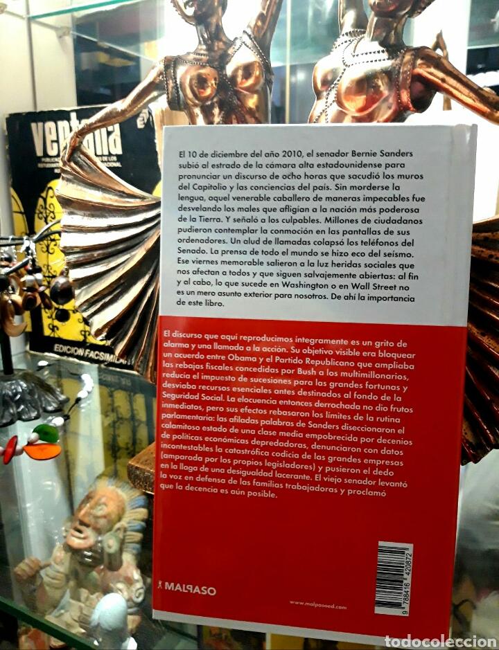 Libros: Bernie Sanders. Discurso sobre la codicia de las grandes empresas y el declive de la clase media - Foto 2 - 194494055