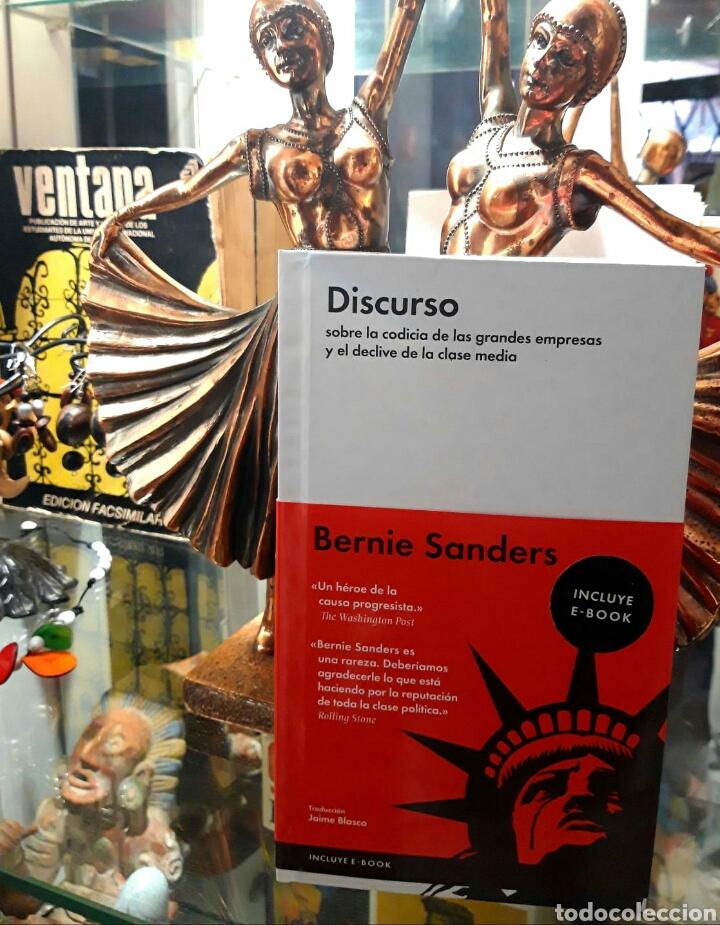 BERNIE SANDERS. DISCURSO SOBRE LA CODICIA DE LAS GRANDES EMPRESAS Y EL DECLIVE DE LA CLASE MEDIA (Libros Nuevos - Historia - Otros)