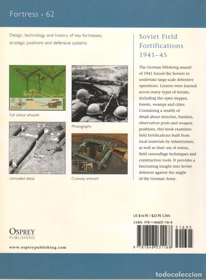 Libros: LIBRO OSPREY - SERIE FORTRESS - Soviet Filed Fortifications 1941/45 - nº 62 - Foto 2 - 194586216