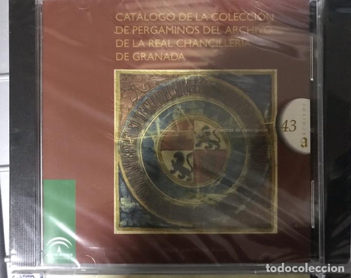 Libros: CATÁLOGO DE HIDALGUÍAS. REAL CHANCILLERIA DE GRANADA 4 CDS - Foto 3 - 194613400