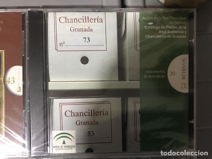Libros: CATÁLOGO DE HIDALGUÍAS. REAL CHANCILLERIA DE GRANADA 4 CDS - Foto 4 - 194613400