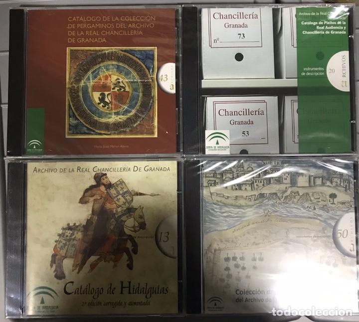 CATÁLOGO DE HIDALGUÍAS. REAL CHANCILLERIA DE GRANADA 4 CDS (Libros Nuevos - Historia - Otros)