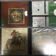 Libros: CATÁLOGO DE HIDALGUÍAS. REAL CHANCILLERIA DE GRANADA 4 CDS. Lote 194613400
