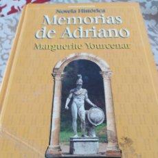 Libros: MEMORIAS DE ADRIANO. Lote 195384343