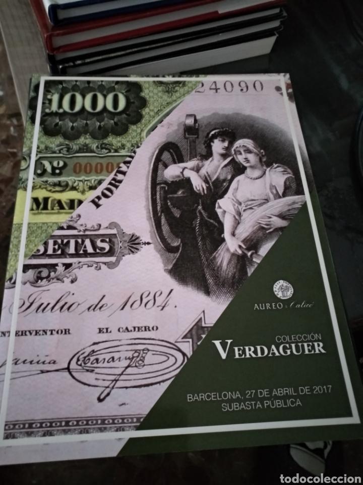 ÁUREO Y CALICO VERDAGUER 2017 (Libros Nuevos - Historia - Otros)