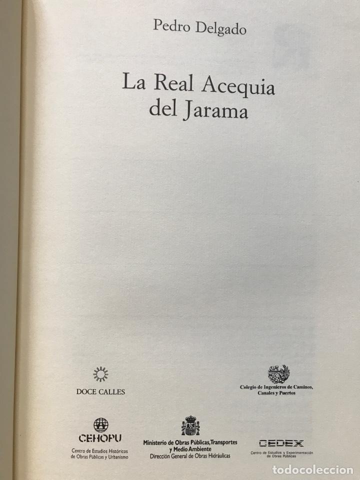 Libros: La Real acequia del Jarama por Pedro Delgado - Foto 2 - 199648698