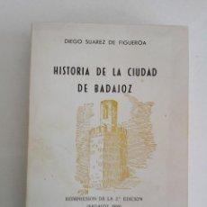 Libros: HISTORIA DE LA CIUDAD DE BADAJOZ. Lote 200732085