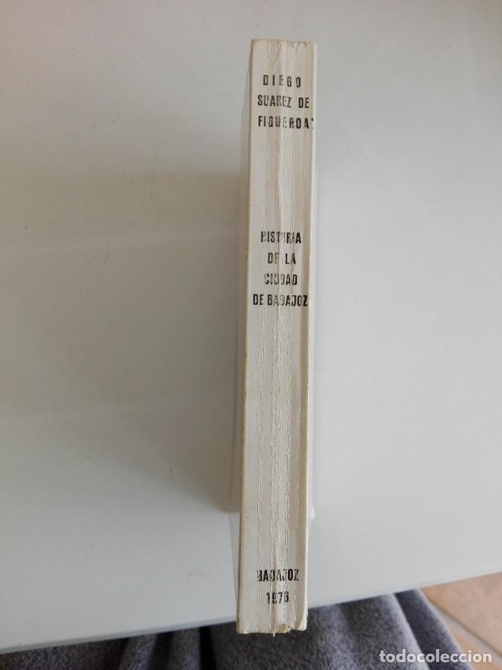 Libros: Historia de la ciudad de Badajoz - Foto 2 - 200732085