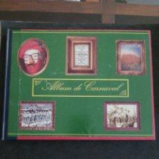 Libros: ALBUM DE CARNAVAL DE CÁDIZ, ENCUARDENADO, VER FOTOS. Lote 201196985