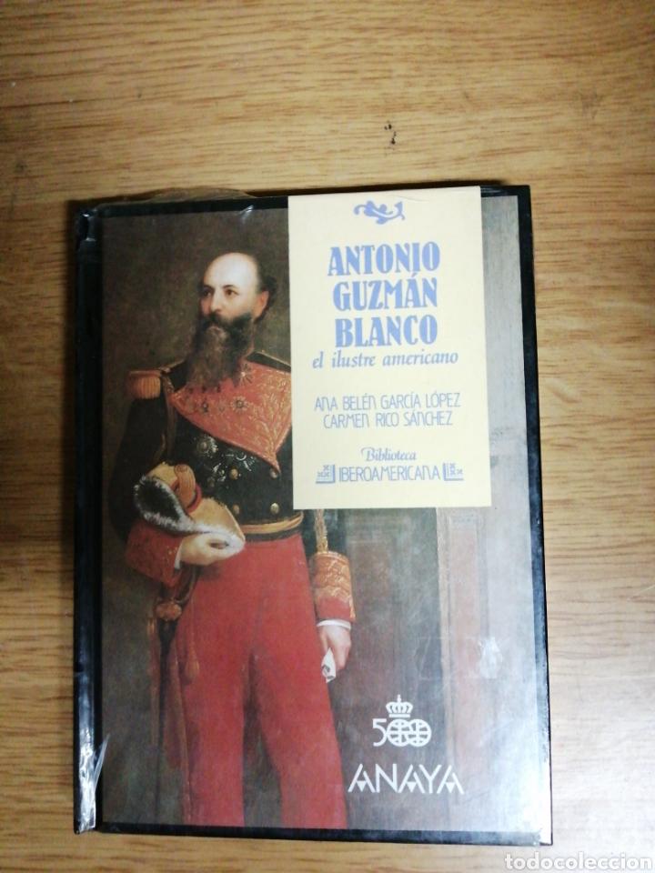 ANTONIO GUZMÁN BLANCO, ANA BELÉN GARCÍA LÓPEZ, CARMEN RICO NUEVO SIN ABRIR. ANAYA (Libros Nuevos - Historia - Otros)