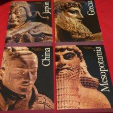 Libros: CUATRO GRANDES CIVILIZACIONES. Lote 204200603