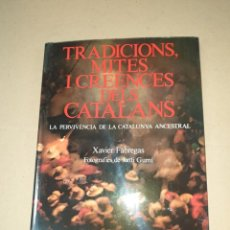 Libros: TRADICIONS MITES I CREENCIES DELS CATALANS. Lote 204242872