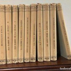 Libros: VISIONS BARCELONINES 1760-1860 . F. CURET. IL.LUSTRACIONS LOLA ANGLADA. 10 VOL. DALMAU I JOVER 1956. Lote 204723592