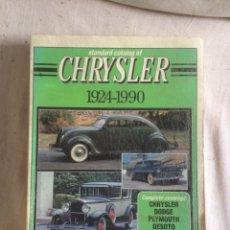 Libros: LIBRO CHRYSLER!1924-1990!. Lote 205744661