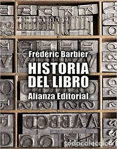 FRÉDÉRIC BARBIER - HISTORIA DEL LIBRO (Libros Nuevos - Historia - Otros)