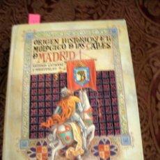 Libros: ORIGEN HISTORICO Y ETIMOLOGICO DE LAS CALLES DE MADRID, FACSIMIL 1986.LT2. Lote 207063162